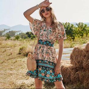 Simply Casual & Chic Bohemian Prairie Dress